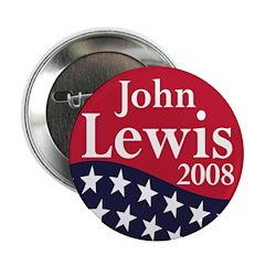 John Lewis for President 2008 (Button)