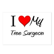 I Heart My Tree Surgeon Postcards (Package of 8)