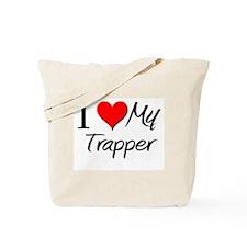 I Heart My Trapper Tote Bag