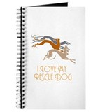 Art deco greyhound Stationery