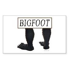 BIGFOOT ~ Rectangle Decal