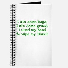 Ate Some Bugs Journal