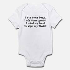 Ate Some Bugs Infant Bodysuit