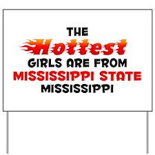 Hot Girls: Mississippi , MS Yard Sign