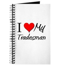 I Heart My Tradesman Journal