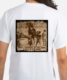 Jumper, stays in the barn. Shirt