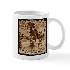Jumper, stays in the barn. Mug