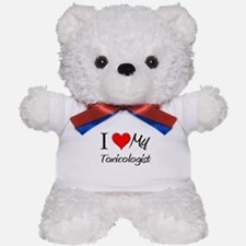 I Heart My Toxicologist Teddy Bear