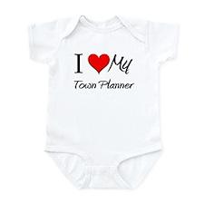 I Heart My Town Planner Infant Bodysuit