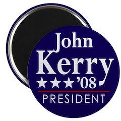 John Kerry for President in 2008 (Magnet)