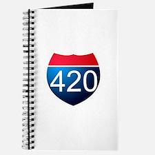 Cute 420 Journal
