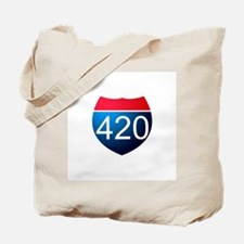 Cute 420 Tote Bag