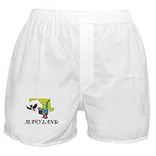 Maryland Fun State Boxer Shorts