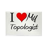 I Heart My Topologist Rectangle Magnet (10 pack)