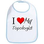 I Heart My Topologist Bib