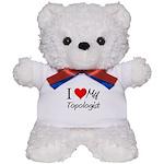 I Heart My Topologist Teddy Bear