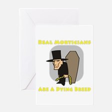 Mortician Shirts and Gifts Greeting Card