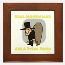 Mortician Shirts and Gifts Framed Tile