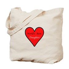 World's Best Daughter Tote Bag