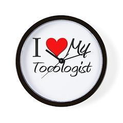 I Heart My Tocologist Wall Clock