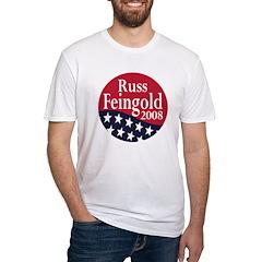 Russ Feingold 2008 (Fitted Political T-Shirt)