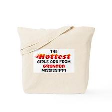 Hot Girls: Grenada, MS Tote Bag
