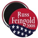Russ Feingold for President in 2008 Magnet