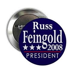 Russ Feingold for President 2008 (Button)