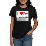 I Heart My Tinsmith Women's Dark T-Shirt