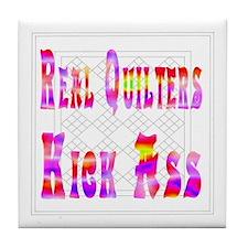 Quilters Kick Ass Tile Coaster