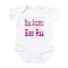 Quilters Kick Ass Infant Bodysuit