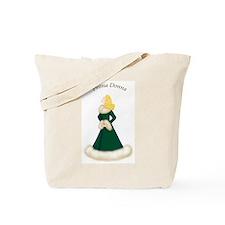 Blonde Prima Donna in Green Robe Tote Bag