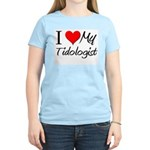 I Heart My Tidologist Women's Light T-Shirt