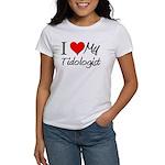 I Heart My Tidologist Women's T-Shirt