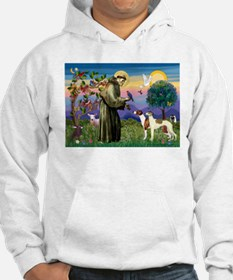 St Francis & Whippets Hoodie