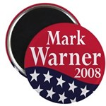 Mark Warner for President in 2008 (Magnet)