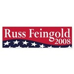 Russ Feingold for President bumper sticker