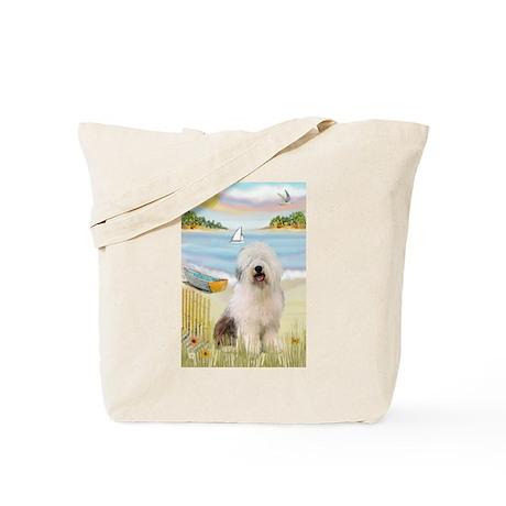 Rowboat & Sheepie Tote Bag