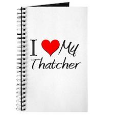 I Heart My Thatcher Journal