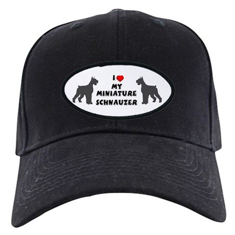Miniature Schnauzer Baseball Hat By Emeraldforest