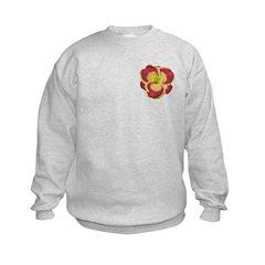 Rose w/ Gold Edge Daylily Sweatshirt
