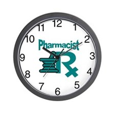 Pharmacist Mart Wall Clock
