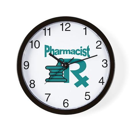Pharmacist Mart Wall Clock