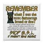Remember when? Tile Coaster