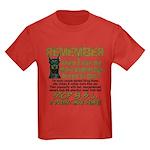 Remember when? Kids Dark T-Shirt