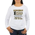Remember when? Women's Long Sleeve T-Shirt