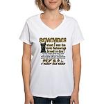 Remember when? Women's V-Neck T-Shirt