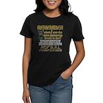 Remember when? Women's Dark T-Shirt