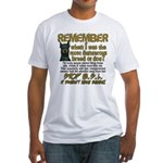 Remember when? Fitted T-Shirt