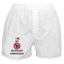 Standard Schnauzer Boxer Shorts